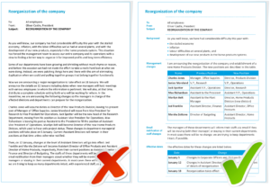 Examples - Information Mapping regarding Information Mapping Word Template