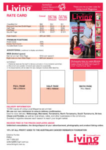 Examples Of Rate Cards | El Vaquero Graphics Team throughout Advertising Rate Card Template