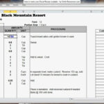 Excel Recipe Template For Chefs - Chefs Resources in Restaurant Recipe Card Template