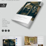 Excellent Hotel & Travel A3 Tri Fold Brochure Template With Regard To Hotel Brochure Design Templates