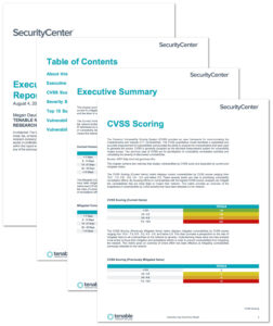 Executive Age Summary Report – Sc Report Template | Tenable® within Information Security Report Template