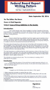 Executive Director Monthly Board Report Template | Glendale in Monthly Board Report Template