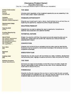 Executive Summary Eport Template Free Example With Sample throughout Evaluation Summary Report Template