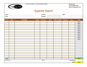 Expense Report Spreadsheet Template Xls Oracle Excel Sheet intended for Expense Report Spreadsheet Template Excel