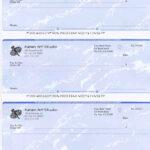 Ezcheckprinting: Business Sample Checks Throughout Blank Business Check Template