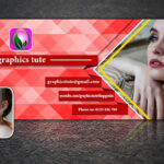 Facebook Cover Page Design In Photoshop – Very Easy Method – Free Psd  Template Download Regarding Photoshop Facebook Banner Template
