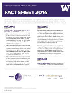 Fact Sheet Templates – Word Excel Samples with regard to Fact Sheet Template Word