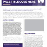 Fact Sheet | Uw Brand pertaining to Fact Sheet Template Word