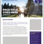 Fact Sheet | Uw Brand Regarding Fact Card Template