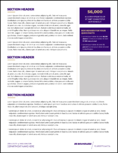 Fact Sheet | Uw Brand throughout Fact Sheet Template Word