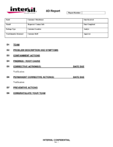 Failure Report Template | Meetpaulryan Within Failure Analysis Report Template