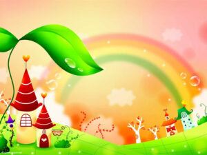 Fairy Tale Rainbow Children Background – Blog Bibleclipart with Fairy Tale Powerpoint Template