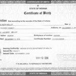 Fake Birth Certificate Maker Complexity Modern How To For Birth Certificate Fake Template