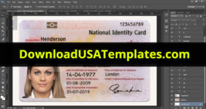 Fake Driver License Template | Fake Id Template Generator Within Florida Id Card Template