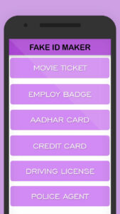 Fake Id Card For Android – Apk Download intended for Mi6 Id Card Template