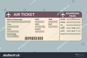 Fake Plane Ticket Template – Top Image Gallery Site with regard to Plane Ticket Template Word