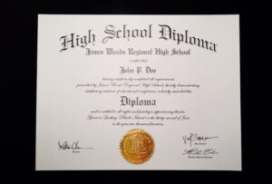 Fake+High+School+Diploma+Template | Jeffrey D Brammer | Free inside Fake Diploma Certificate Template
