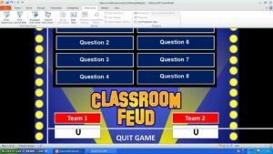 Family Feud Powerpoint Template with regard to Family Feud Powerpoint Template With Sound