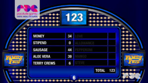 Family Feud Presentation Software 1.0 inside Family Feud Powerpoint Template With Sound