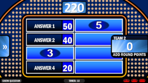 Family Feud   Rusnak Creative Free Powerpoint Games regarding Family Feud Powerpoint Template With Sound