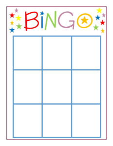 Family Game Night: Bingo | Adventures In Parenting {Group in Bingo Card Template Word