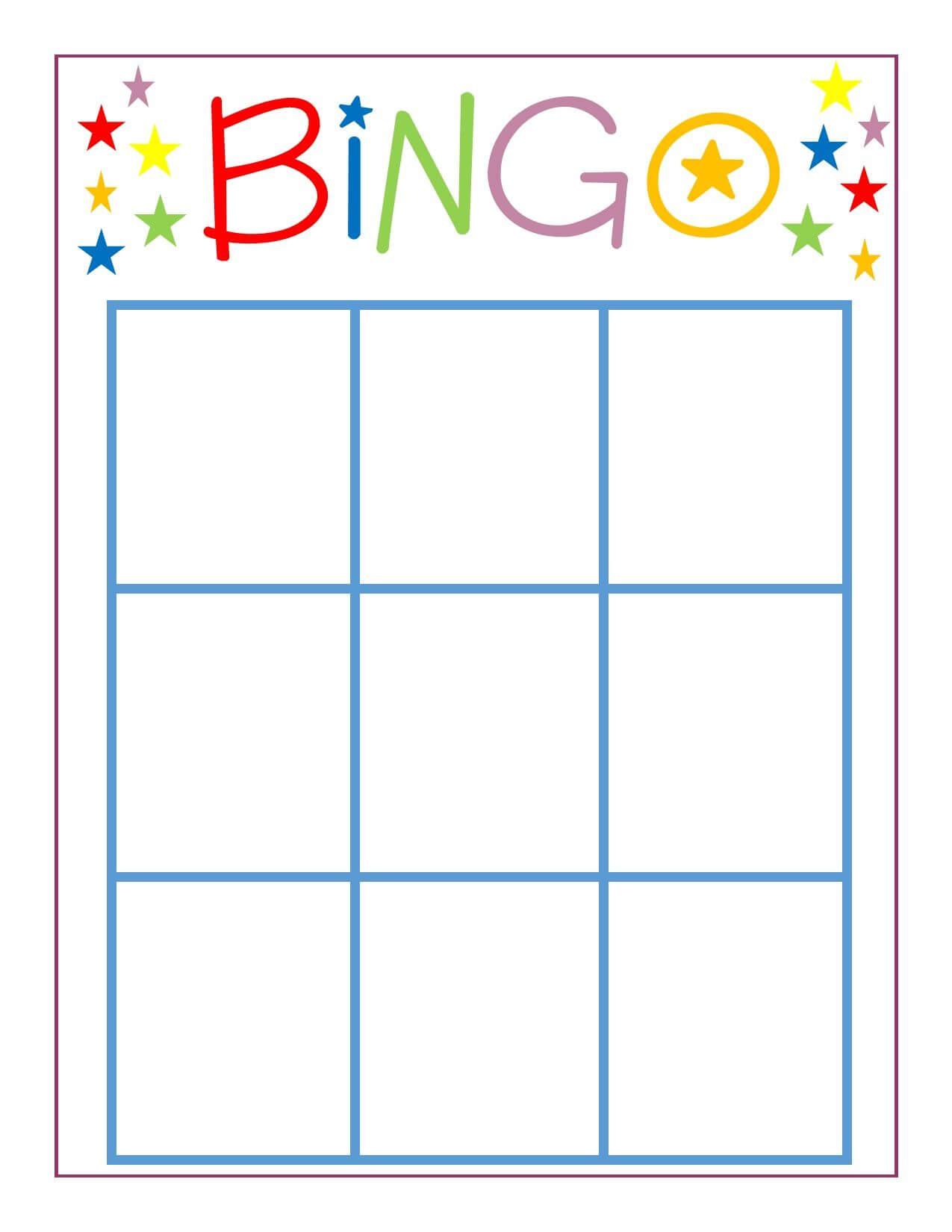 Family Game Night: Bingo | Adventures In Parenting {Group In Bingo Card Template Word