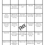 Family Reunion: Get To Know You Bingo With Regard To Ice Breaker Bingo Card Template