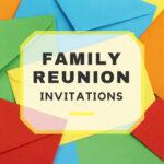 Family Reunion Invitations Inside Reunion Invitation Card Templates