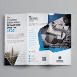 Fancy Business Tri-Fold Brochure Template | Brochure within Fancy Brochure Templates