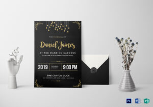 Farewell Invitation Card Template Pertaining To Farewell Invitation Card Template