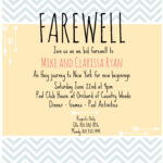 Farewell Invite   Picmonkey Creations   Farewell Party With Farewell Invitation Card Template