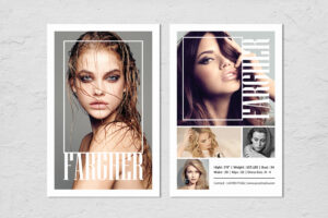 Fashion Modeling Comp Card Template regarding Free Zed Card Template