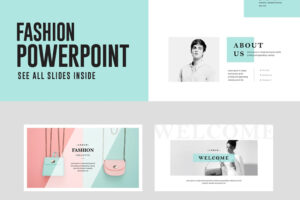 Fashion Powerpoint Presentation Template Free – Free intended for Powerpoint Slides Design Templates For Free