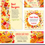 Fast Food Restaurant Banner And Poster Template Within Food Banner Template