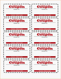 Father's Day Coupon Printable! | Flourish | Free Resources for Love Coupon Template For Word