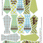Fathers Day Free Printable Tie Banner And Cupcake Toppers With Regard To Tie Banner Template