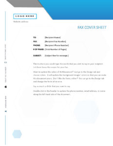 Fax Covers – Office inside Fax Template Word 2010