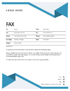 Fax Covers – Office throughout Fax Cover Sheet Template Word 2010