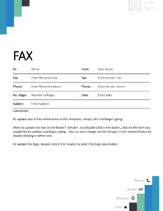 Fax Covers – Office throughout Fax Template Word 2010