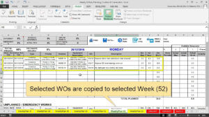 Features Maintenance Planning And Scheduling Excel Template Throughout Fleet Management Report Template