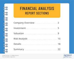 Financial Analysis Report | Steps, Sections, & More regarding Credit Analysis Report Template