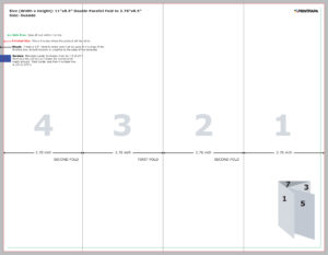 Find A Printing Template :: Printpapa for Brochure 4 Fold Template
