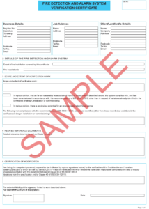 Fire Retardant Certificate Sample – Carlynstudio pertaining to Electrical Isolation Certificate Template