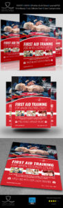 First Aid Flyer Template On Behance Aids Brochure Templates within Hiv Aids Brochure Templates