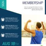 Fitness Membership Flyer Template In Membership Brochure Template