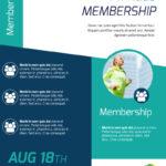 Fitness Membership Flyer Template Throughout Membership Brochure Template