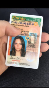 Florida Fake Id Florida Fake Driver License Buy Registered Within Florida Id Card Template