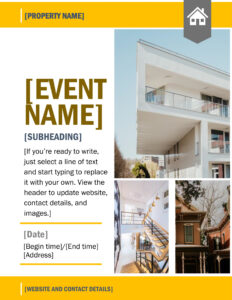 Flyers – Office intended for Engineering Brochure Templates Free Download