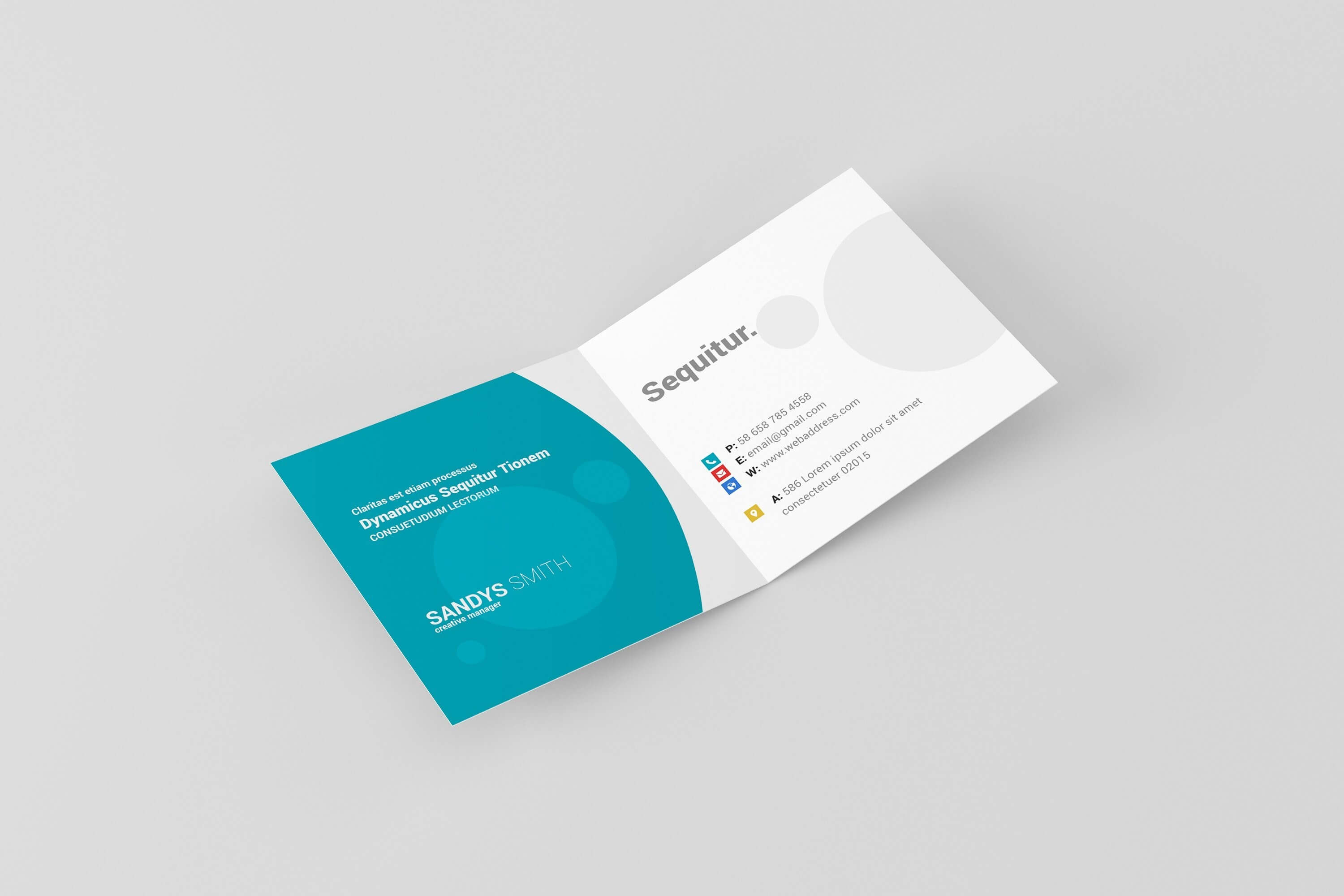 Foldover Business Cards Fold Over Card Template Fresh With Fold Over Business Card Template