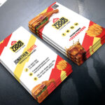 Food Restaurant Business Card Psdpsd Freebies On Dribbble With Food Business Cards Templates Free